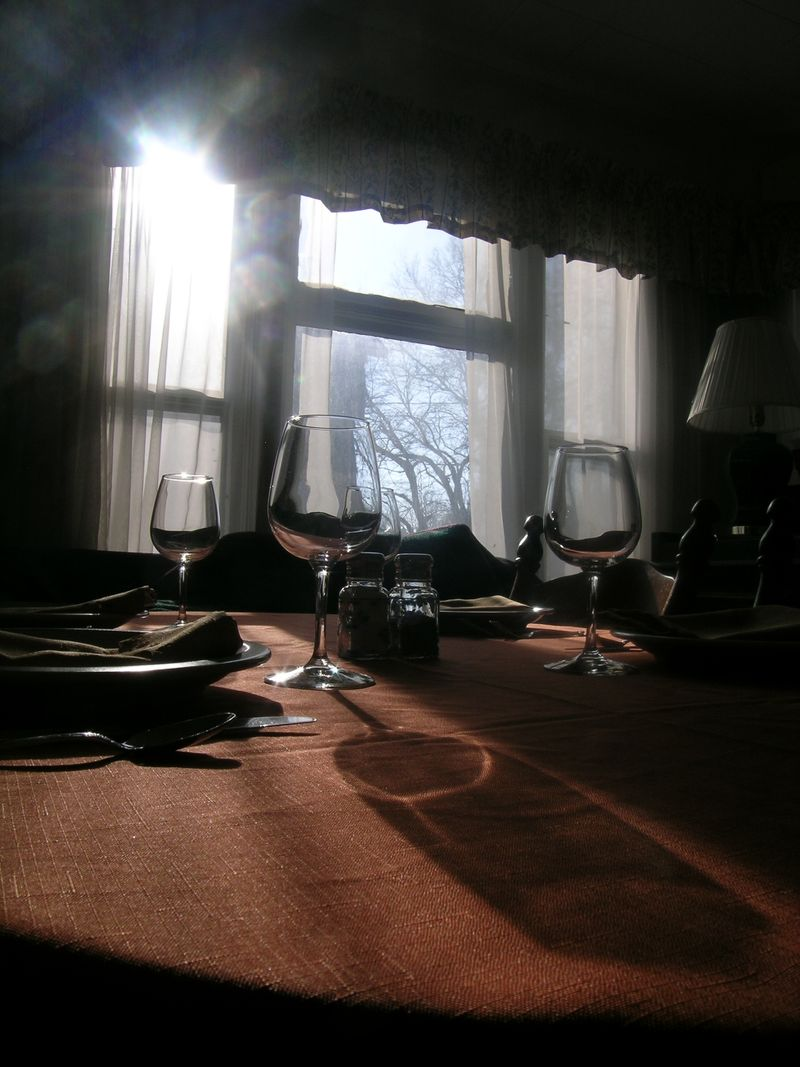 Wine glasses darker