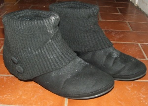 Grubby boots