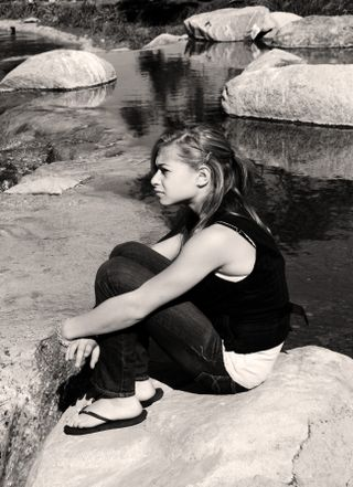 Contemplationbw