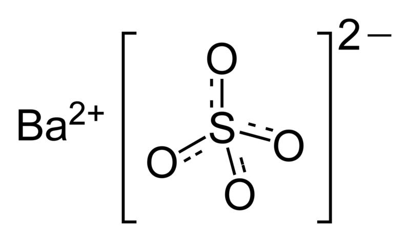 Barium-sulfate-2D